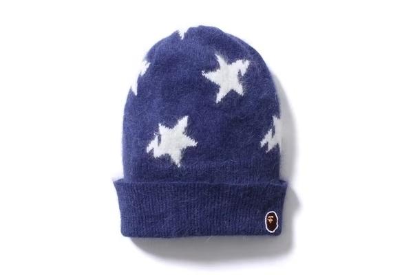 BAPE猿人闪电星星毛线冷帽-X2.studio 高品质服饰-