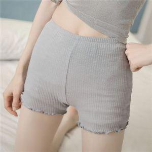 大码安全裤防走光女夏蕾丝打底短裤宽松外穿防狼裤薄款三分保险裤