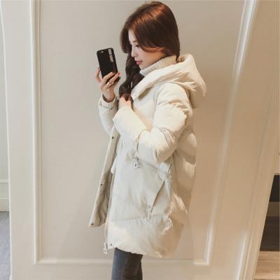 实拍冬季外套棉服女韩版宽松bf学生棉衣中长款新款棉袄ins面包服-千姿秀羽绒服-