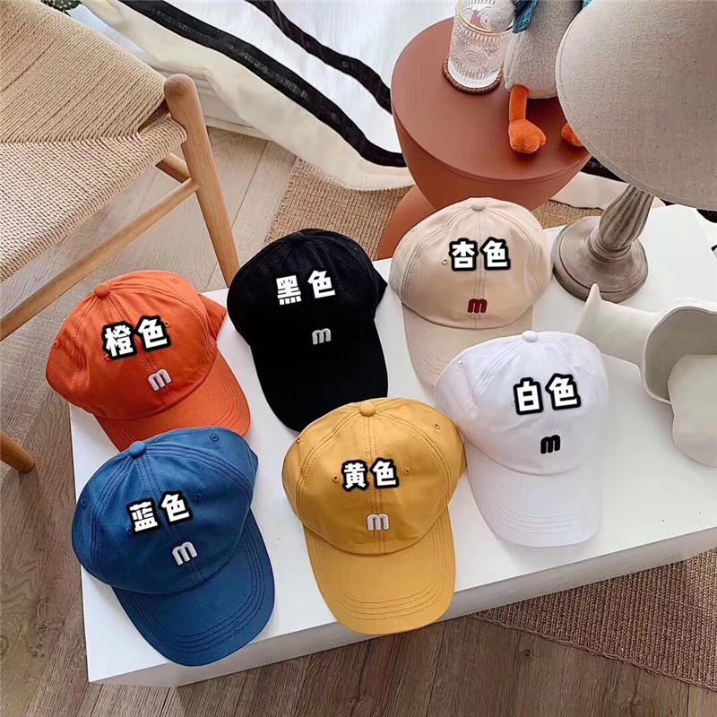 ins韩国鸭舌帽-小A-