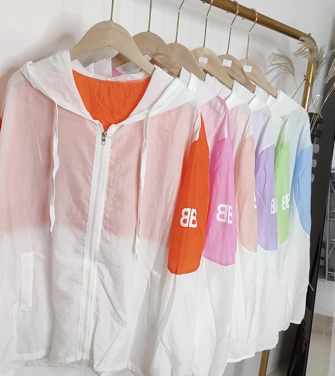 防晒衣女2020夏季新款速干风衣网红超薄短款学生防紫外线衣服潮流-纯享空间-
