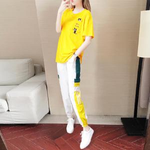 休闲套装女气质韩版洋气减龄时尚高冷御姐风两件套夏