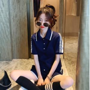 学院风休闲套装女韩版时尚百搭学生运动两件套洋气