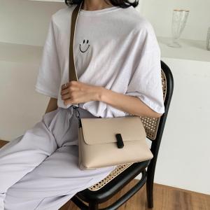 FS81354# 韩版时尚软皮手感超好单肩斜跨女包双肩带推荐 服装批发女装直播货源