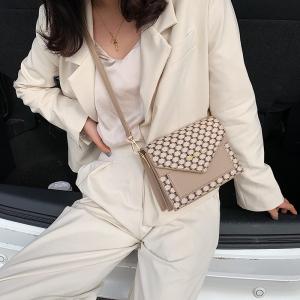 FS81353# 爆款老花信封包单肩斜跨韩版女包  服装批发女装直播货源