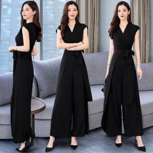 FS95605# 夏季新款韩版减龄时尚百搭简约通勒两件套