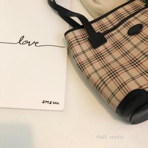 FS88103# 韩版复古包秋冬托特包小众设计大容量手提单肩大包 服装批发女装货源