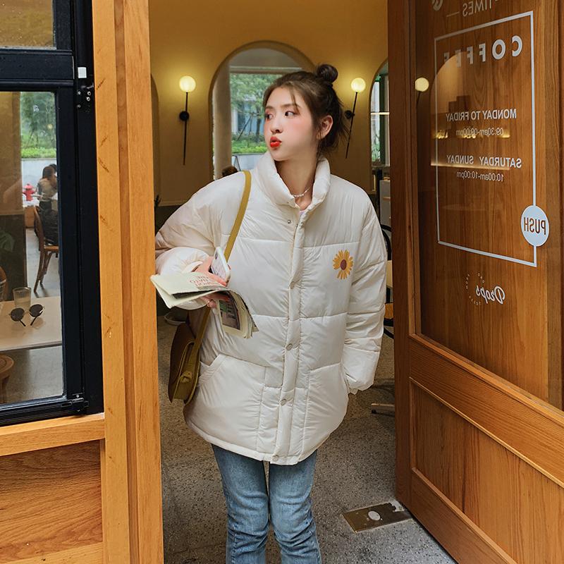 实拍冬装棉衣女韩版宽松羽绒服2020冬季新款外套面包服bf上衣外套-千姿秀羽绒服-