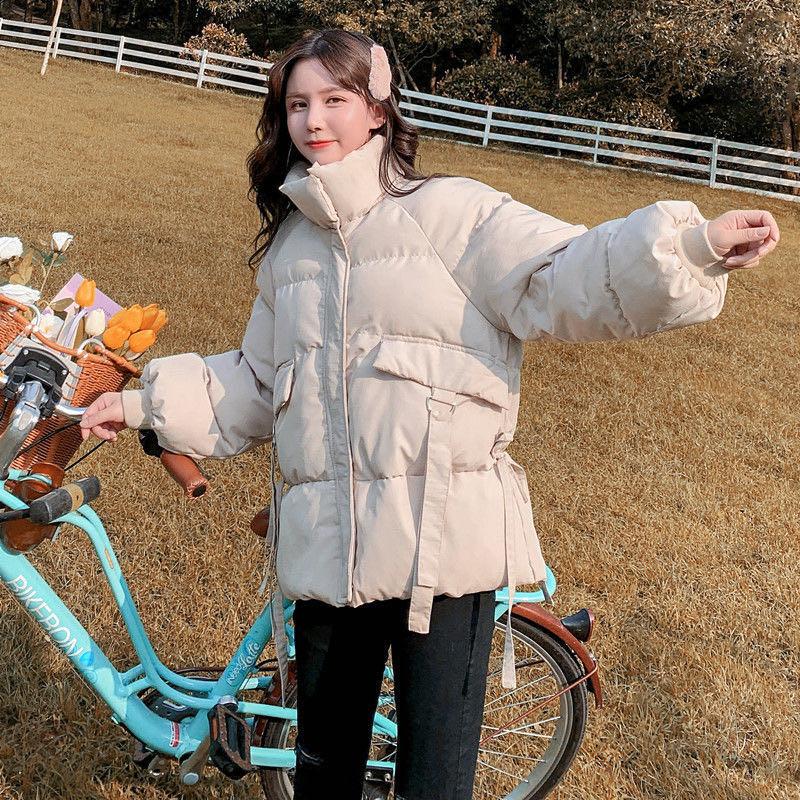 管网图 2020新款韩版网红羽绒服韩版宽松短款棉服短款棉衣外套女-千姿秀羽绒服-