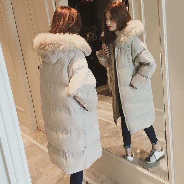 2020冬季羽绒棉服加厚外套女冬面包服棉袄韩版chic中长过膝bf棉衣-千姿秀羽绒服-