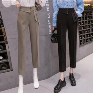 FS97179# 西装裤女休闲...