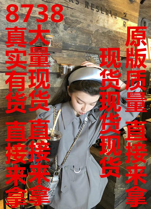 THEHANDLE/居 *巴黎丽兹短款风衣女韩版宽松系带腰设计感秋季外套-小婧服饰-
