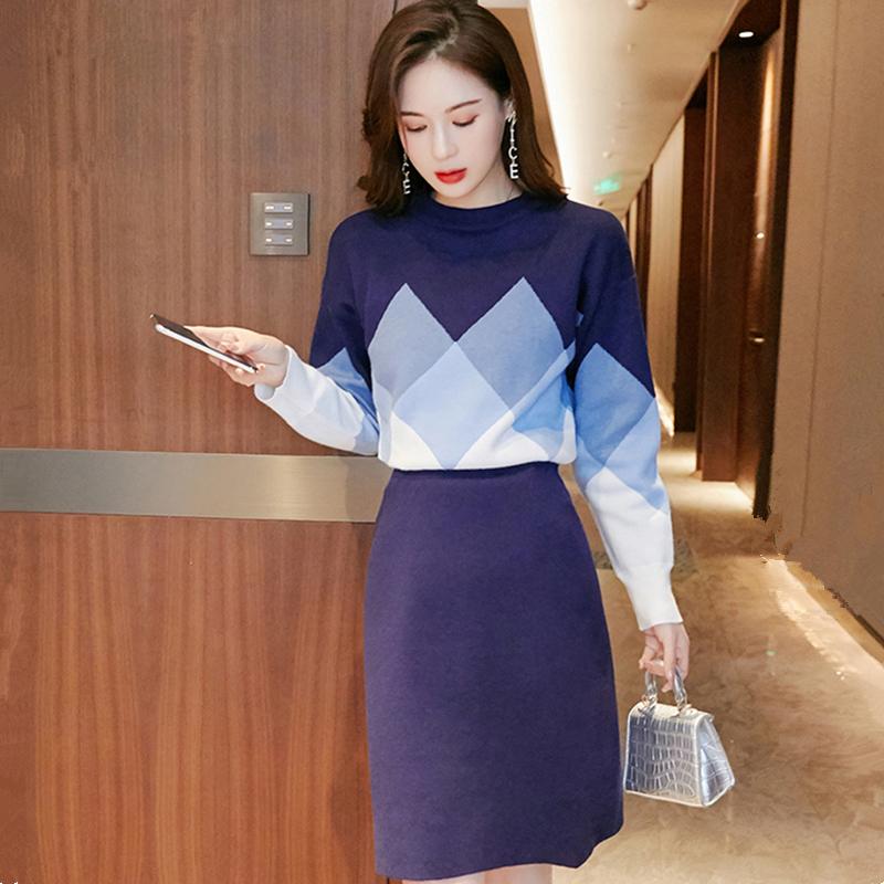 2020年秋装新款时尚气质套头宽松卫衣女韩版套头毛衣女针织衫上衣-卡嫚妮服饰-