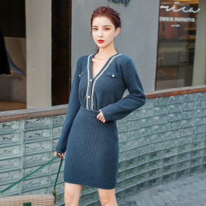 YF11663# 新款女装收腰显瘦包臀半身裙套装 服装批发女装直播货源