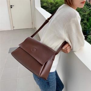 YF24574# 邮差包女大包包简约小众设计质感ins韩版流行新款时尚潮 包包批发女包货源