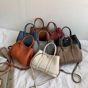 YF24549# 大容量时尚简约大方女包单肩斜跨手提女士包包 包包批发女包货源