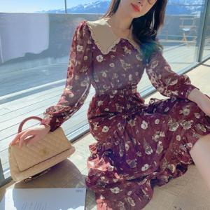 YF22962# 早春一条三层工艺蕾丝四种手工装饰的仙女裙 女装批发服装货源
