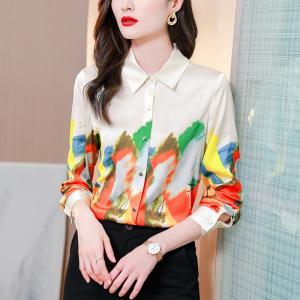 YF30333# 高品质衬衫女...