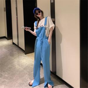 YF41524# 背带裤女韩版...