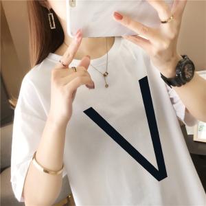 CX5447# 最便宜服装批发 白色短袖T恤夏装上衣女士宽松韩版新款百搭超火
