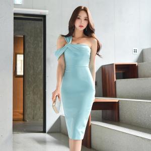 YF39587# 新款性感抹胸包臀裙连衣裙女 服装批发女装直播货源