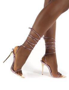 X-25269# 新款欧美走秀尖头高跟女凉鞋35-42 鞋子批发女鞋货源