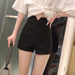 YF46550# 夏季新款韩版超高腰显腿长修身包臀弹力短裤女 服装批发女装直播货源