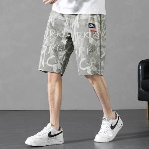 YF48514# 跨境外贸夏季短裤男士新款外穿五分中裤休闲运动薄款沙滩裤 服装批发女装直播货源