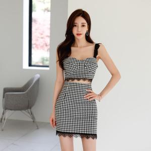 YF51340# 夏季新款韩版新感修身连衣裙背带裙 服装批发女装直播货源