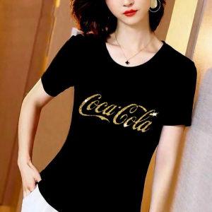 CX6684# 最便宜服装批发 纯棉短袖T恤女中年大码胖MM宽松显瘦半袖上衣
