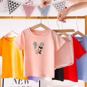 CX6826# 最便宜服装批发 童装男童套装1夏季2儿童夏装3宝宝4衣服0-5岁小孩短袖纯棉两件套