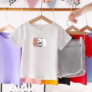 CX6823# 最便宜服装批发 纯棉运动宝宝夏季套装儿童短袖洋气帅新款男童夏装婴儿衣服