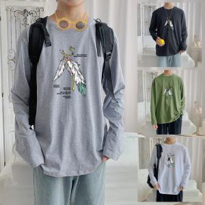 CX6923# 最便宜服装批发 纯棉套头圆领T恤情侣装秋季打底衫圆领长袖男女外套