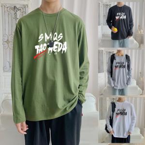 CX6932# 最便宜服装批发 纯棉套头圆领T恤情侣装秋季打底衫圆领长袖男女外套
