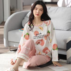 YF68882# 睡衣新款简约韩版时尚气质家居服套装 服装批发女装直播货源