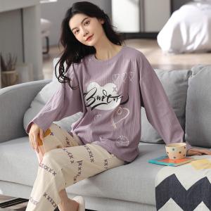 YF68885# 睡衣新款简约韩版时尚气质家居服套装 服装批发女装直播货源