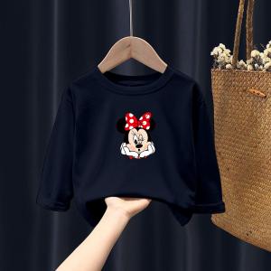 CX6805# 最便宜服装批发 男女童t恤长袖春秋童装儿童打底衫纯棉女宝宝洋气上衣