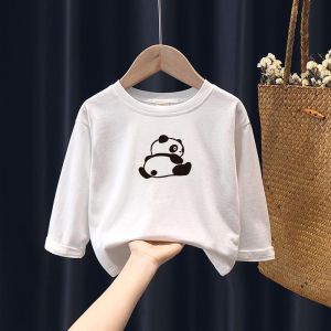 CX6807# 最便宜服装批发 男女宝宝纯棉长袖T恤春秋打底衫小童上衣女童儿童秋装婴儿