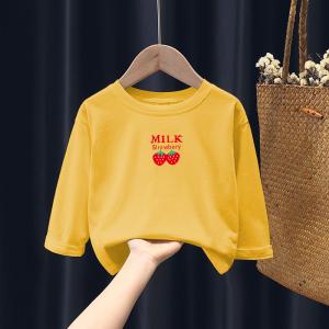 CX6809# 最便宜服装批发 儿童长袖t恤纯棉新款春秋男童打底衫中大童宝宝秋童装