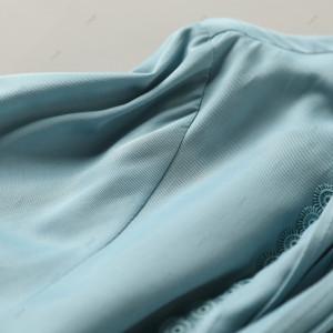 YF70516# 秋季新款欧洲贵族风时尚重工压褶花边复古轻奢长袖女式衬衫 服装批发女装直播货源