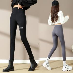 YF72025# 鲨鱼裤女外穿秋季收腹提臀芭比瑜伽打底黑色紧身裤子 服装批发女装直播货源