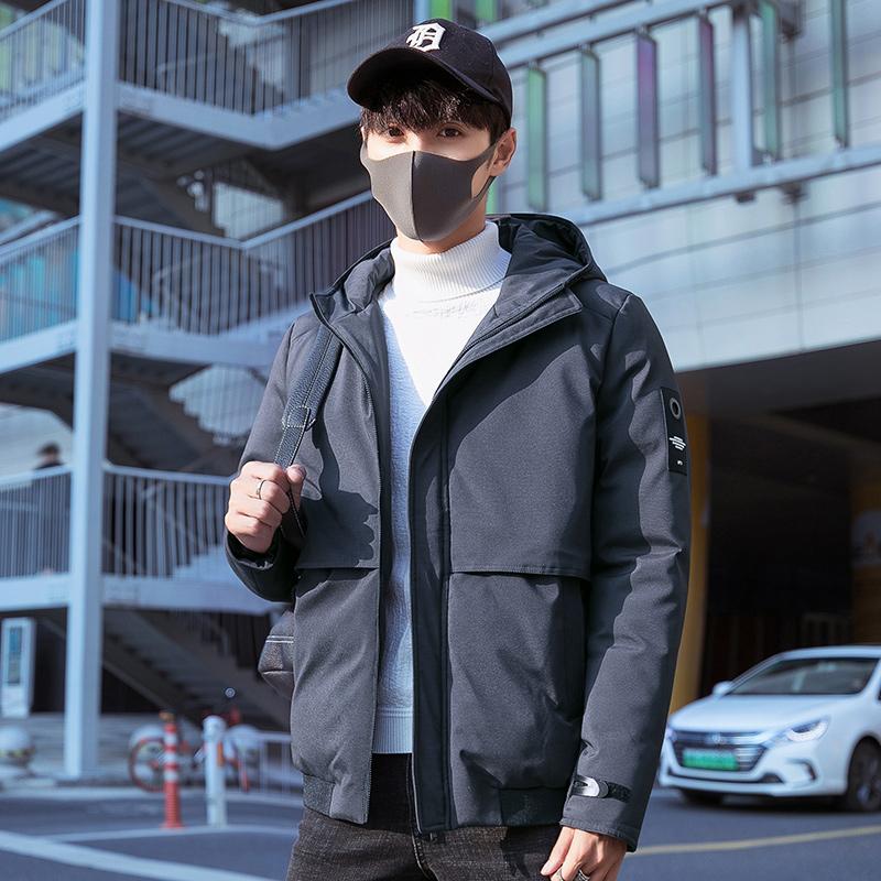 棉衣男士外套冬季2018新款韩版潮流帅气衣服短款加厚棉袄男装棉服