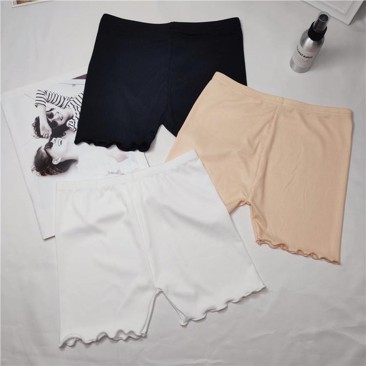 成份 实拍 实价夏季防走光保险短裤纯棉可外穿大码胖MM安全裤