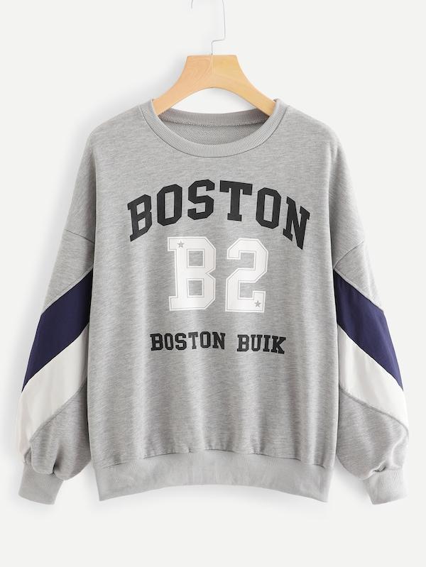 速賣通亞馬遜ebay歐美外貿爆款字母印花衛衣