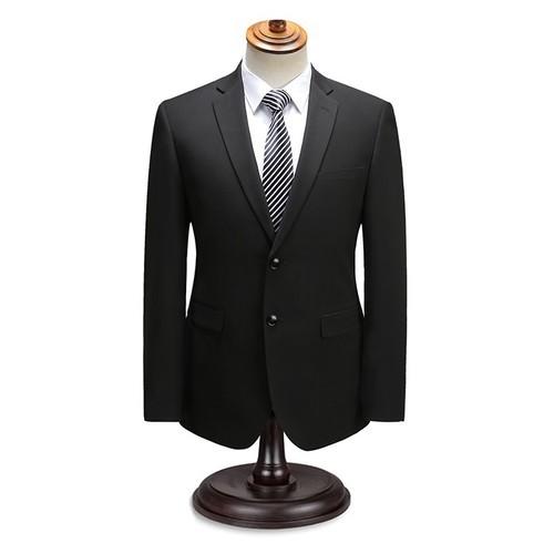 年輕男士西裝兩件套學生修身小西裝面試應聘職業正裝婚禮宴會禮服