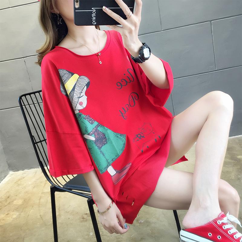 實拍棉質不下架網紅同款韓版前后混穿翻領寬松短袖t恤女上衣