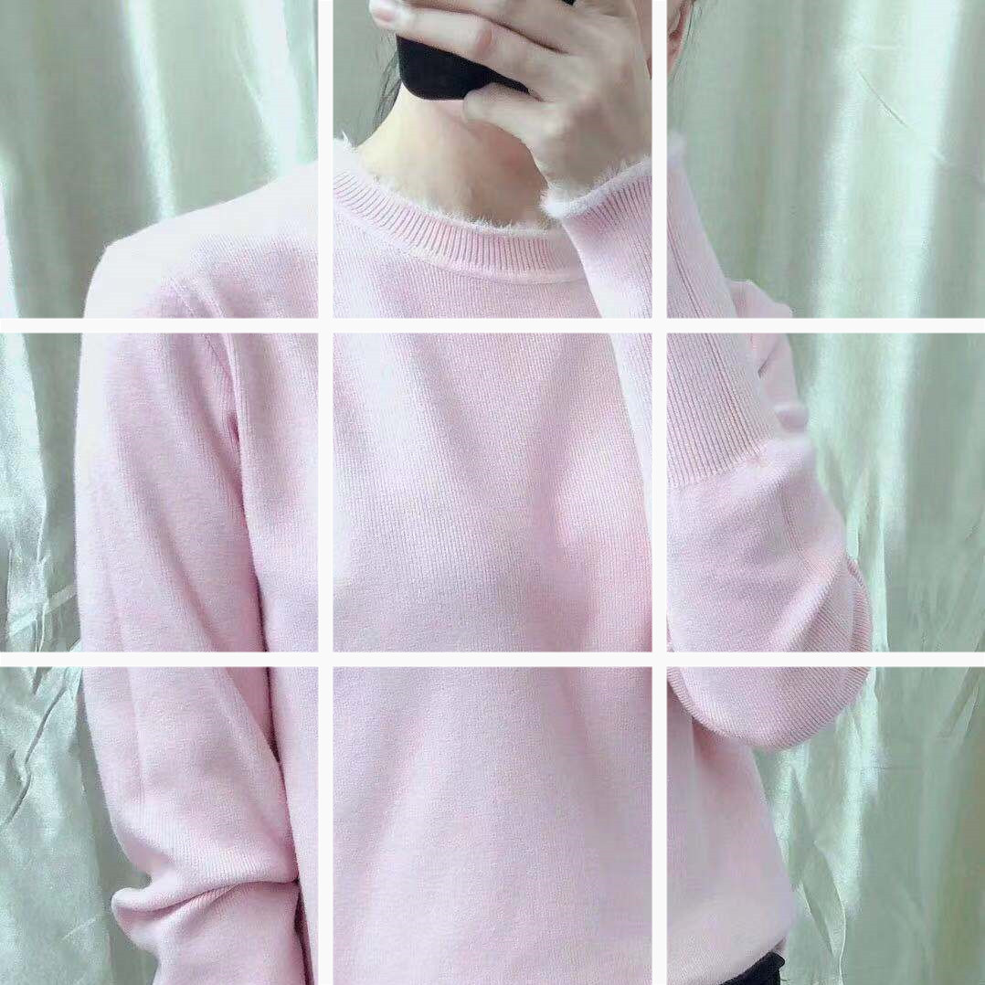 秋装女士上衣网红毛衣女2019新款女装潮初秋洋气针织衫