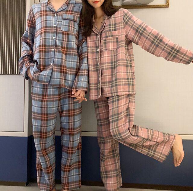 實拍#新品 浪漫復古少女情懷舒適睡衣家居服套裝