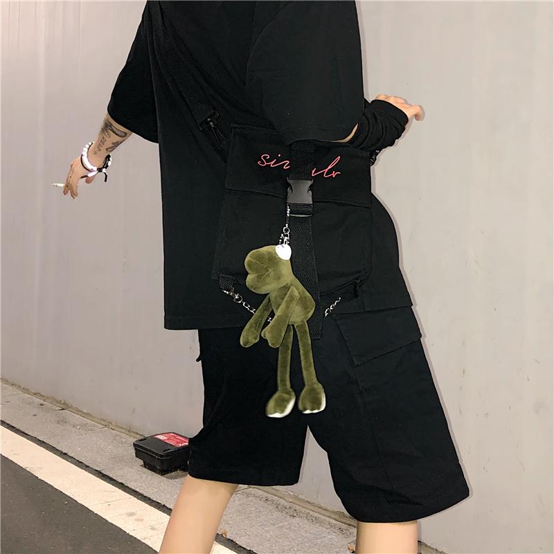 实价!控价+5霸王龙小恐龙背包包挂件长腿青蛙钥匙挂饰公仔ins
