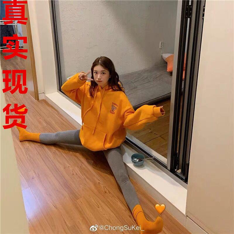 莊莊9/24 最近瘋狂迷戀的小熊衛衣~橘色/杏色/藏青/灰色 加絨啦